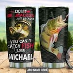 Personalized Fishing Jealous HLZ1812009 Stainless Steel Tumbler