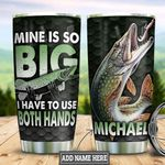Personalized Fishing Big Fish HLZ1812008 Stainless Steel Tumbler