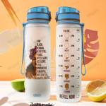 Black Woman KD4 THA1812011 Water Tracker Bottle