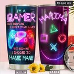 Gamer Personalized NNR2112003 Stainless Steel Tumbler