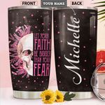 BC Skull Personalized HHS2112004 Stainless Steel Tumbler