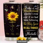 The Holy Spirit Personalized HHS2112009 Stainless Steel Tumbler