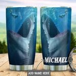 Personalized Shark HLZ2112019 Stainless Steel Tumbler
