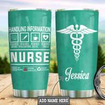 Personalized Nurse Label HLZ2112011 Stainless Steel Tumbler