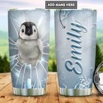 Personalized Penguin Ice Breaking PYZ2112014 Stainless Steel Tumbler
