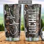 Personalized Fishing In My Veins Metal Style PYZ2112006 Stainless Steel Tumbler