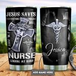 Personalized Faith Nurse Metal Style TTZ2112005 Stainless Steel Tumbler