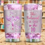 Nurse She Believed Jewelry Style KD2 BGM2112006 Stainless Steel Tumbler