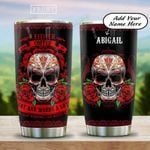 I Drink Coffe And Say A Lot Personalized HAB2112002 Stainless Steel Tumbler