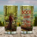 I Go To Lose My Mind Book Girl HAB2112001 Stainless Steel Tumbler