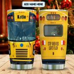 School Bus Head Personalized KD2 MAL2112010 Stainless Steel Tumbler