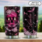BRC Skull Butterfly Personalized KD2 HAL2112006 Stainless Steel Tumbler