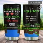 Retro Gaming Video Games Ruined My Life Personalized KD2 HRX2112006 Stainless Steel Tumbler