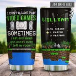 Retro Gaming Personalized KD2 HRX2112005 Stainless Steel Tumbler