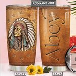 Native Bronze Style Personalized PYR2212012 Stainless Steel Tumbler