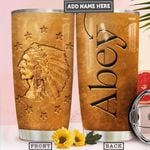 Native Golden Style Personalized PYR2212013 Stainless Steel Tumbler