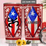 Puerto Rico Personalized PYR2212014 Stainless Steel Tumbler