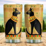 Ancient Egyptian Cat KD2 BGM2212001 Stainless Steel Tumbler