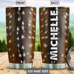 Deer Fur Style Personalized HHR2212018 Stainless Steel Tumbler