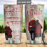 Personalized Old Husband To Wife DNZ2212015 Stainless Steel Tumbler