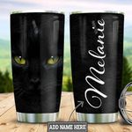 Personalized Black Cat HLZ2212002 Stainless Steel Tumbler