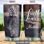 Cat Tiger Personalized HHS2212003 Stainless Steel Tumbler