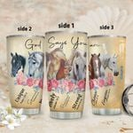 Horse God Says HHS2212005 Stainless Steel Tumbler