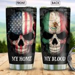Mexico Skull HHS2212006 Stainless Steel Tumbler