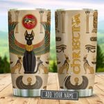 Ancient Egyptian Cat With Wings Personalized KD2 BGM2212002 Stainless Steel Tumbler