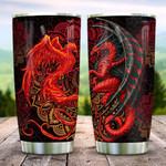 Phoenix VS Dragon KD2 HNL2212009 Stainless Steel Tumbler