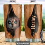 Owl Wooden Style Personalized HHR2312013 Stainless Steel Tumbler