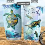 Turtle Personalized PYR2312017 Stainless Steel Tumbler