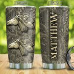Bronze Native American KD4 Personalized TAA2312001 Stainless Steel Tumbler
