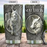 Wolf KD4 Personalized TAA2312012 Stainless Steel Tumbler