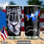 Personalized Puerto Rico Faith Pigeon HLZ2312017 Stainless Steel Tumbler