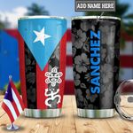 Personalized Puerto Rico DNZ2312016 Stainless Steel Tumbler