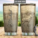 Personalized Deer Bronze Style TTZ2312005 Stainless Steel Tumbler