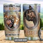 Personalized Crazy Horse DNZ2312004 Stainless Steel Tumbler