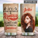 Redhead Sunshine Personalized KD2 HRX2312003 Stainless Steel Tumbler