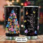 Butterfly Tree Personalized KD2 HAL2312001 Stainless Steel Tumbler