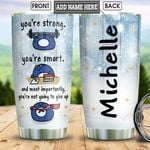 Penguin Motivation KD4 Personalized HHA2412007 Stainless Steel Tumbler