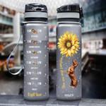 Dachshund THA2412017 Black Water Tracker Bottle
