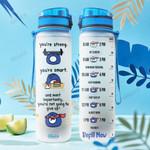 Penguin Motivation KD4 THA2412023 Water Tracker Bottle
