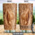 Leather Horse KD4 Personalized HHA2412005 Stainless Steel Tumbler