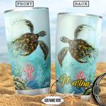 Turtle Personalized NNR2412016 Stainless Steel Tumbler