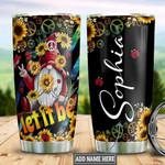 Sunflower Hippie Gnome TTZ2412014 Stainless Steel Tumbler