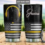 Personalized American Dispatcher HLZ2412005 Stainless Steel Tumbler