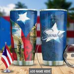 Personalized Puerto Rico Star HLZ2412011 Stainless Steel Tumbler