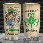 Tattooist Get Lucky Personalized KD2 BGM2412005 Stainless Steel Tumbler