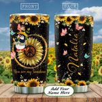 Penguin Hippie Personalized KD2 HAL2412011 Stainless Steel Tumbler